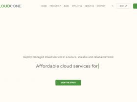 Cloudcone:中国新年优惠活动,内存384M/CPU 1核/10G SSD/8T 流量/月-$11.25/年